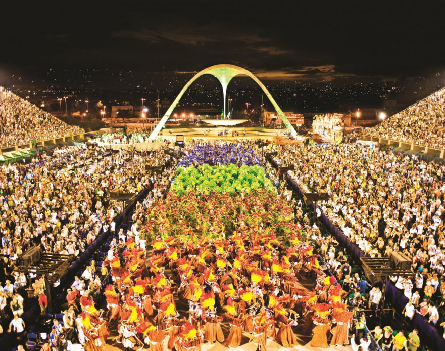Rio Carnival 2015 - Parade Celebrations Sambodromo