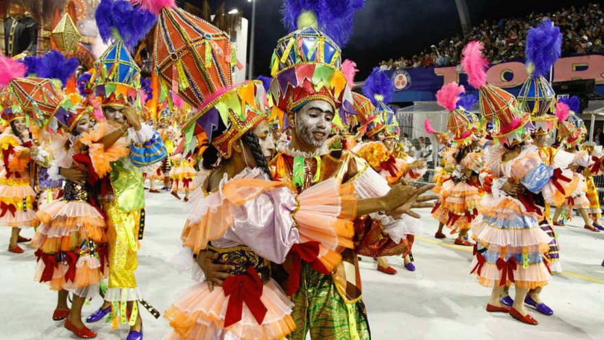 Legendary Parades at Rio Carnival